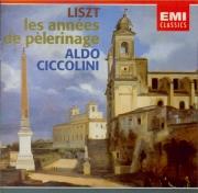 LISZT - Ciccolini - Années de pèlerinage I (première année : Suisse), po