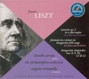LISZT - Arrau - Concerto pour piano et orchestre n°1 en mi bémol majeur