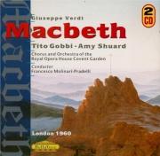 VERDI - Molinari-Pradel - Macbeth, opéra en quatre actes (version italie live London 8 - 04 - 1960
