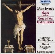 FRANCK - Kamp - Messe à 3 voix (version 1872 avec le 'Panis angelicus')