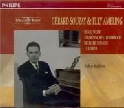 WOLF - Souzay - Italienisches Liederbuch, cycle de mélodies pour voix et