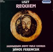 LISZT - Ferencsik - Requiem, pour solistes, choeur, orgue et cuivres  -  pe
