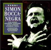 VERDI - Gavazzeni - Simon Boccanegra, opéra en trois actes Live Salzburg, 9 - 8 - 1961