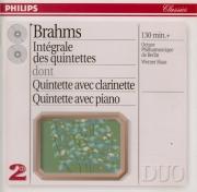 BRAHMS - Haas - Quintette avec piano en fa mineur op.34