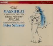 BACH - Schreier - Magnificat en ré majeur, pour solistes, chœur et orche