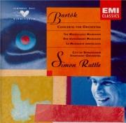 BARTOK - Rattle - Le mandarin merveilleux, pantomime pour chœur et orche