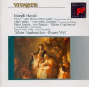 HAYDN - Weil - Missa sunt bonta mixta malis, pour choeur mixte a cappella
