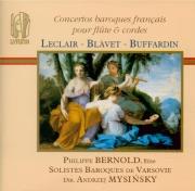 Concerto baroques français pour flûte & cordes