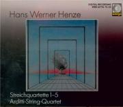 HENZE - Arditti String - Quatuors à cordes (5)