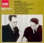 BRAHMS - Serkin - Quintette avec piano en fa mineur op.34