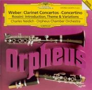 WEBER - Neidich - Concerto pour clarinette n°1 op.73