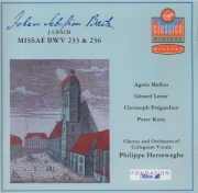 BACH - Herreweghe - Messe luthérienne en fa majeur, pour solistes, chœur