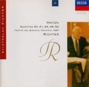 HAYDN - Richter - Sonate pour clavier en sol mineur op.53 n°4 Hob.XVI:44