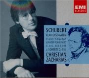 SCHUBERT - Zacharias - Sonate pour piano en la mineur op.42 D.845