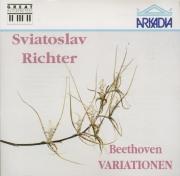 BEETHOVEN - Richter - Trente-trois variations pour piano op.120 'Variati Live du 1er juin 1970, La Fenice de Venise