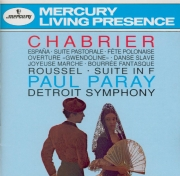 CHABRIER - Paray - Suite pastorale