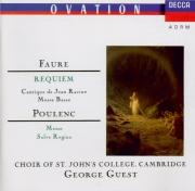 FAURE - Guest - Requiem pour voix, orgue et orchestre en ré mineur op.48