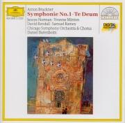 BRUCKNER - Barenboim - Symphonie n°1 en ut mineur WAB 101