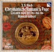 BACH - Gilbert - Fantaisie chromatique et fugue, pour clavier en ré mine