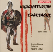 KHATCHATURIAN - Järvi - Spartacus : trois suites