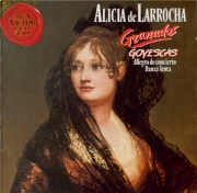 GRANADOS - De Larrocha - Goyescas, suite pour piano