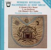 Musiques rituelles maçonniques au XVIIIe siècle