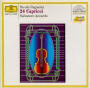 PAGANINI - Accardo - Vingt-quatre caprices pour violon op.1 MS.25