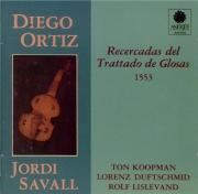 ORTIZ - Savall - Recercadas del trattado de glosas