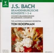 BACH - Koopman - Concerto brandebourgeois n°1 pour orchestre en fa majeu