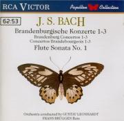 BACH - Brüggen - Concerto brandebourgeois n°1 pour orchestre en fa majeu