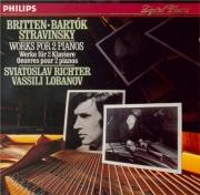 BRITTEN - Richter - Introduction et Rondo alla burlesca, pour deux piano