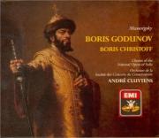 MOUSSORGSKY - Cluytens - Boris Godounov