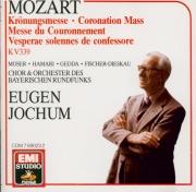 MOZART - Jochum - Messe en do majeur, pour solistes, chœur, orgue et orc