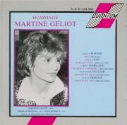 Hommage à Martine Géliot