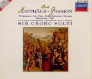 BACH - Solti - Passion selon St Matthieu(Matthäus-Passion), pour solist