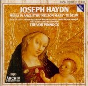 HAYDN - Pinnock - Missa in Angustijs, pour solistes, choeur mixte, orches