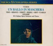 VERDI - Leinsdorf - Un ballo in maschera (Un bal masqué), opéra en trois