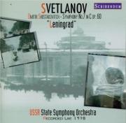 CHOSTAKOVITCH - Svetlanov - Symphonie n°7 op.60 'Leningrad'