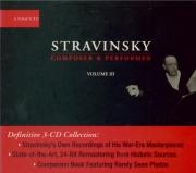 Igor Stravinski composer & performer vol.3