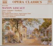 PUCCINI - Rahbari - Manon Lescaut