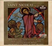 BRITTEN - Britten - Saint Nicolas (Crozier), cantate pour solistes, choeu