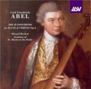 ABEL - Beckett - Concertos (6) pour flûte et cordes op.6