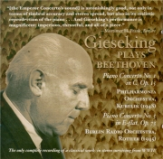 BEETHOVEN - Gieseking - Concerto pour piano n°1 en ut majeur op.15