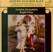 RAFF - Daskalakis - Sonate pour violon n°3 op.128