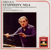 SIBELIUS - Barbirolli - Symphonie n°4 op.63 (import Japon) import Japon