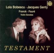 FRANCK - Bobesco - Sonate pour piano et violon en la majeur FWV.8