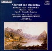 Clarinet and Orchestra (David, Stadler, Hummel, Spohr, Späth...)