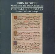 BROWNE - Phillips - Stabat Mater dolorosa à 6