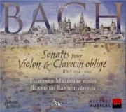 BACH - Malgoire - Sonate pour violon et clavier n°1 en si mineur BWV.101