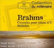 BRAHMS - Fricsay - Concerto pour piano et orchestre n°2 en si bémol maje